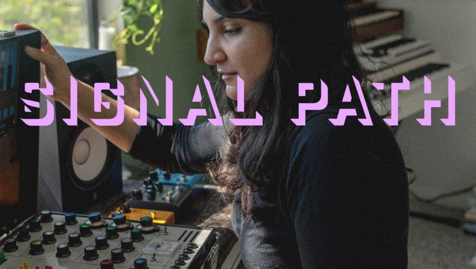 Sarah Davachi Signal Path