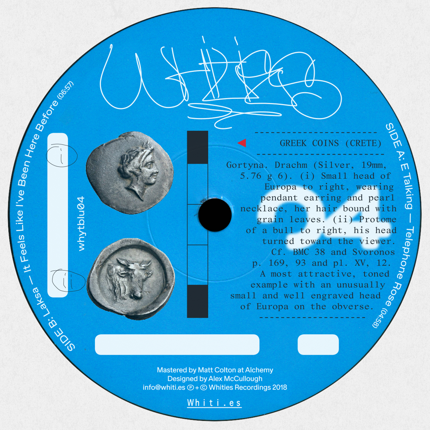 Laksa, E-Talking, upsammy and BFTT featured on Whities Blue 03 and 04