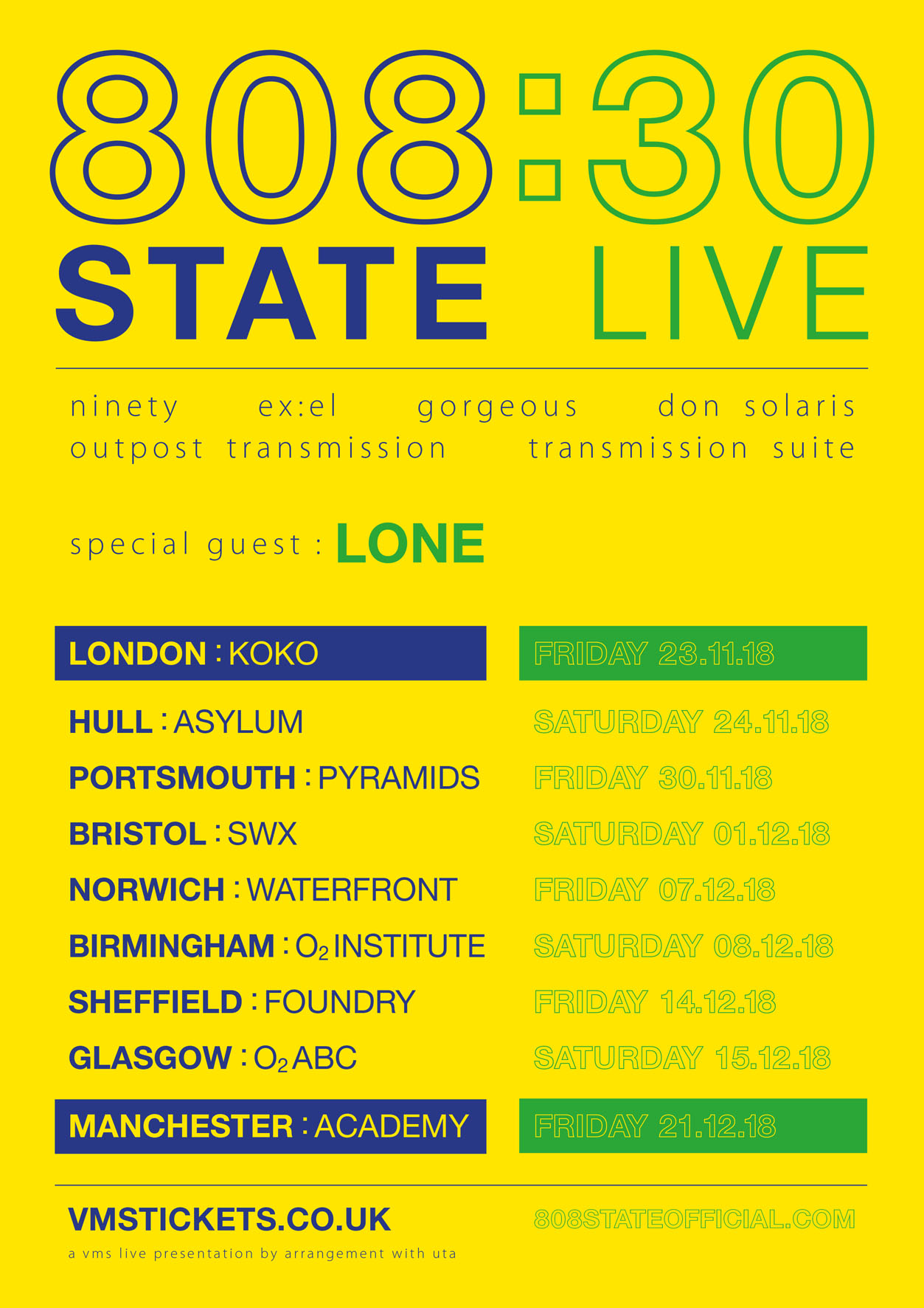 808 State remix Lone track 'Temples' ahead of 808 State: 30 Live tour