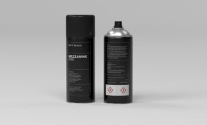 "Massive Attack's Mezzanine ""remastered"" in aerosol spray can format"