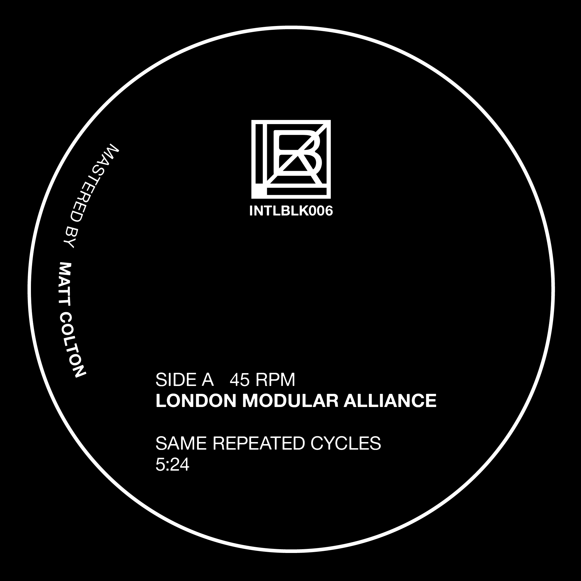 London Modular Alliance debut on International Black with new EP