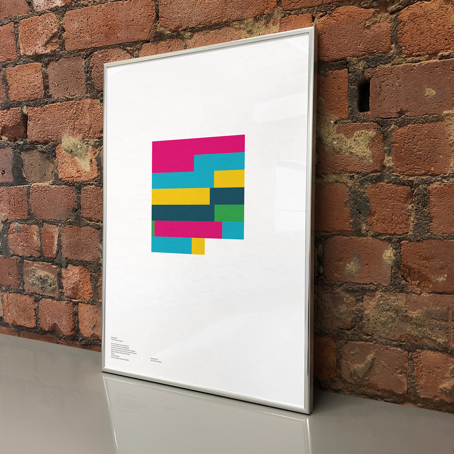 Sequence turns your favourite album into customizable art