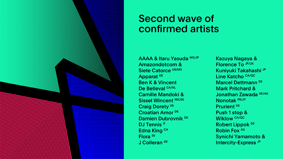 Apparat, DJ Tennis and Marcel Dettmann added to MUTEK.MX lineup