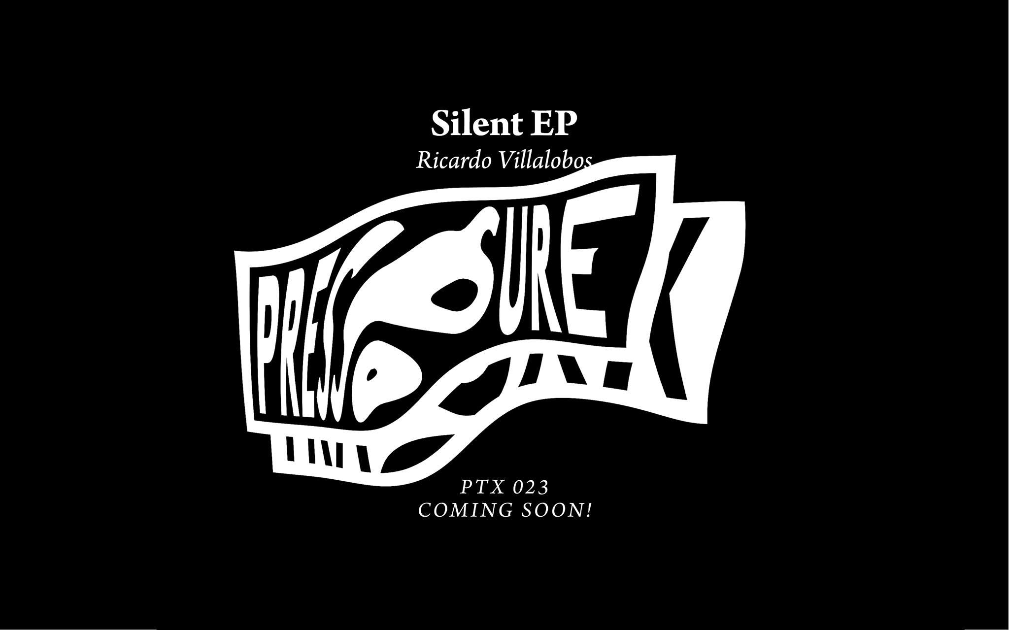 Ricardo Villalobos to release Silent EP on Pressure Traxx