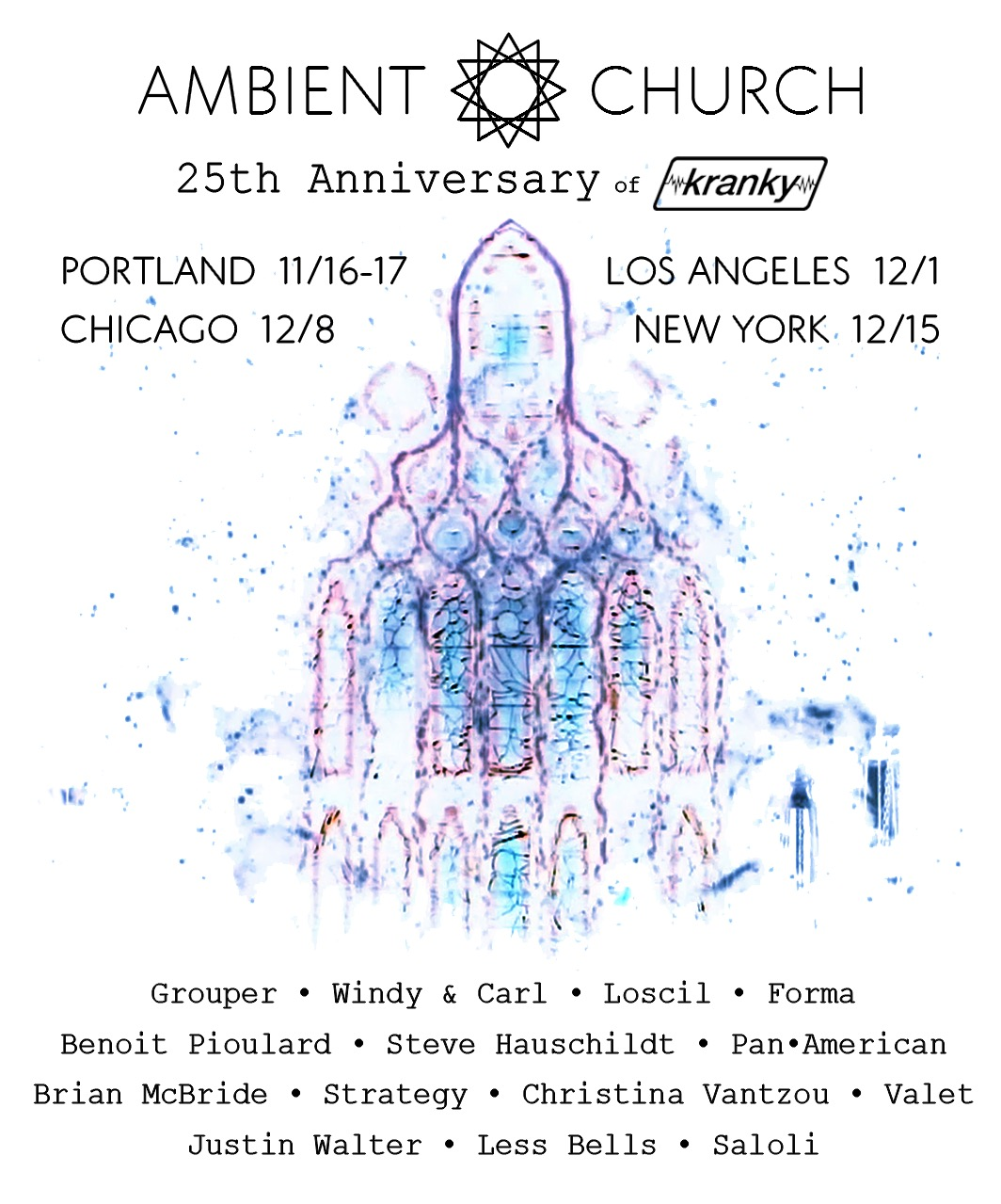 Grouper, Loscil and more to perform at Kranky 25th anniversary shows