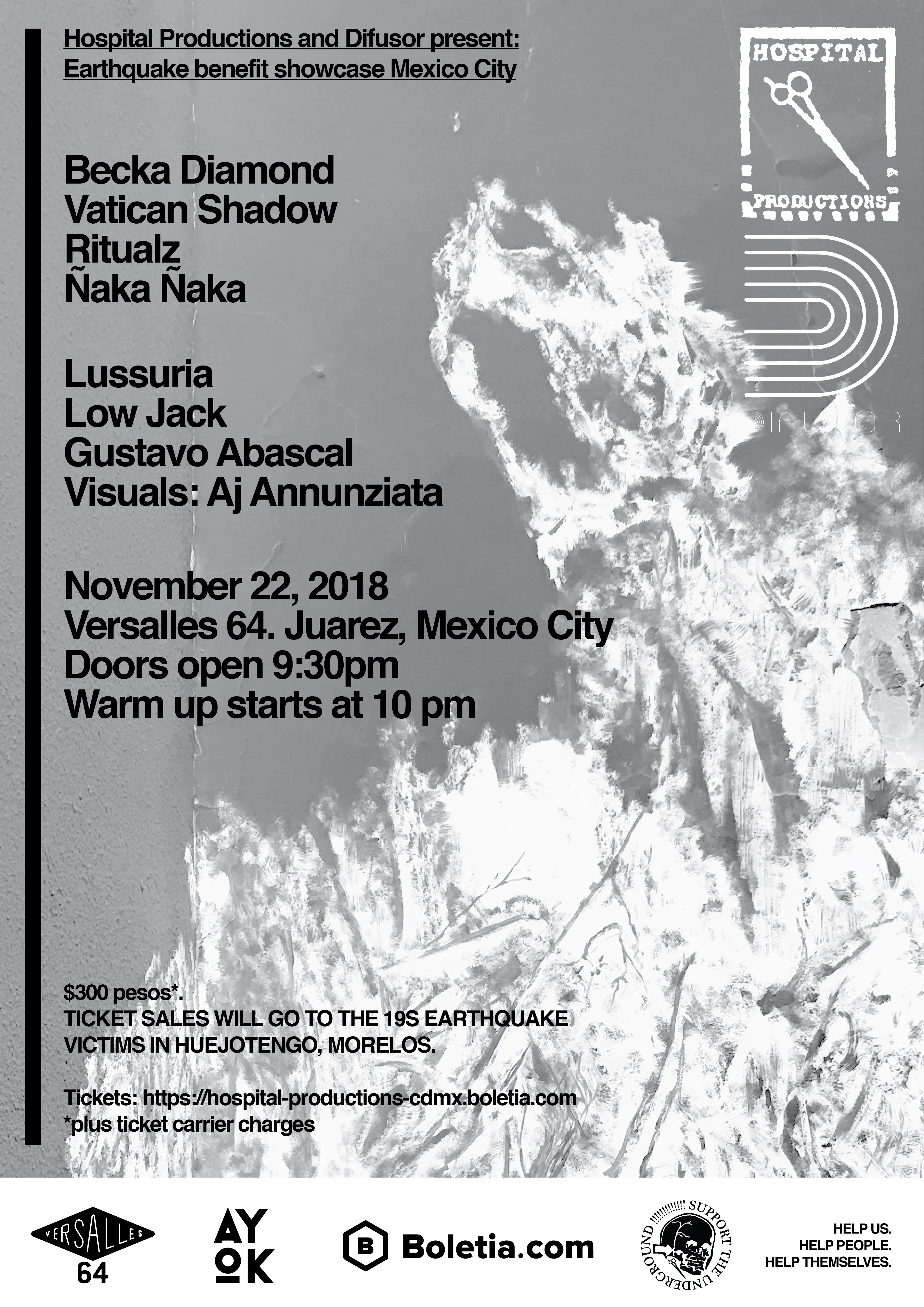 Hospital Productions to host Mexico City earthquake benefit showcase