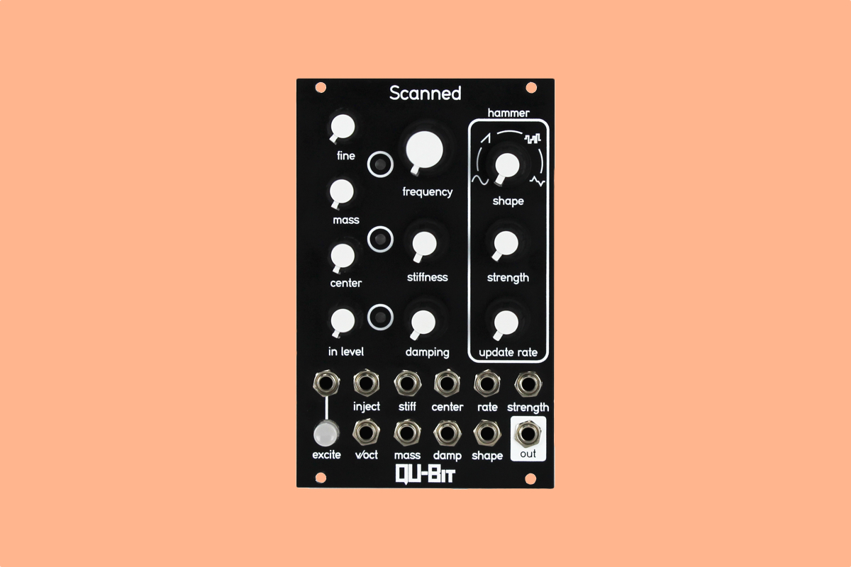 Qu-Bit Elektronix brings scanned synthesis to hardware for the first time on new oscillator module