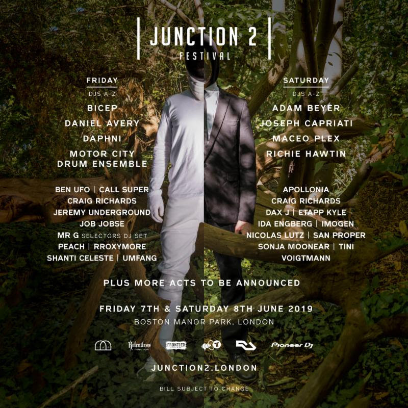 Ben UFO, Craig Richards and rRoxymore added to Junction 2 lineup