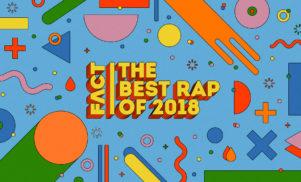 The best rap of 2018