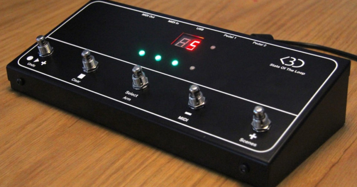 First controller for Ableton Live's Looper device available on Kickstarter