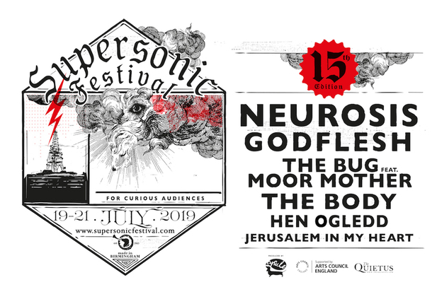 Godflesh and The Bug to play Supersonic Festival 2019