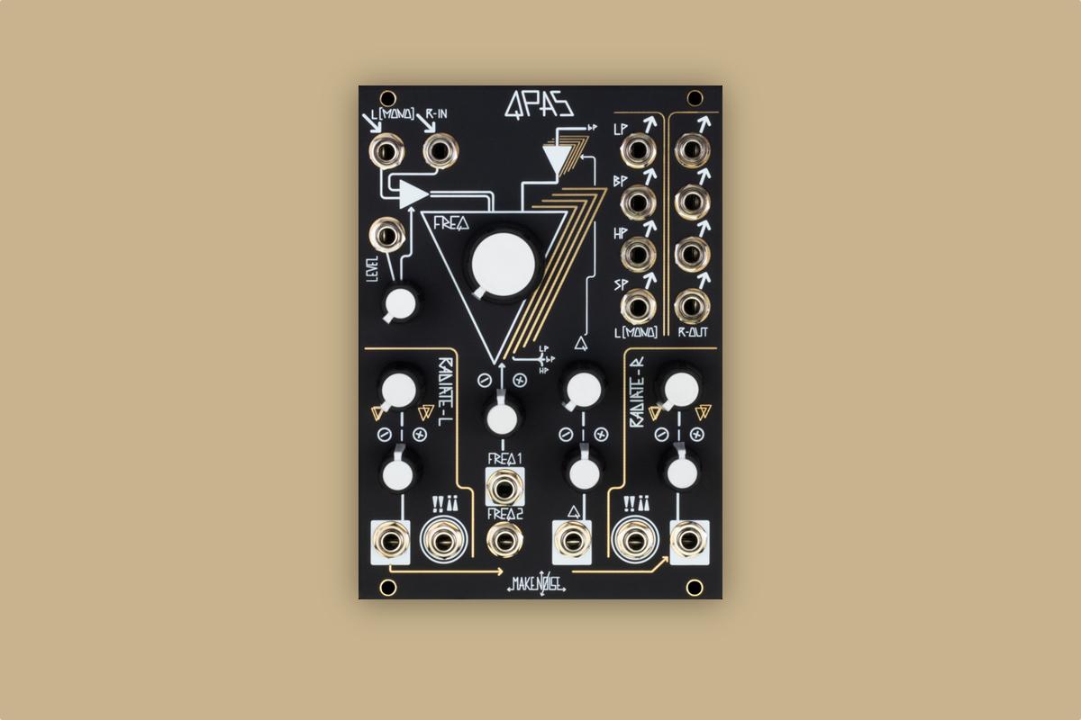 Make Noise unveils new Eurorack filter module, QPAS