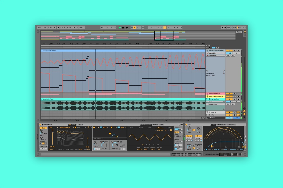 Ableton adds user wavetables, new EQ and delay tools for Live 10 1