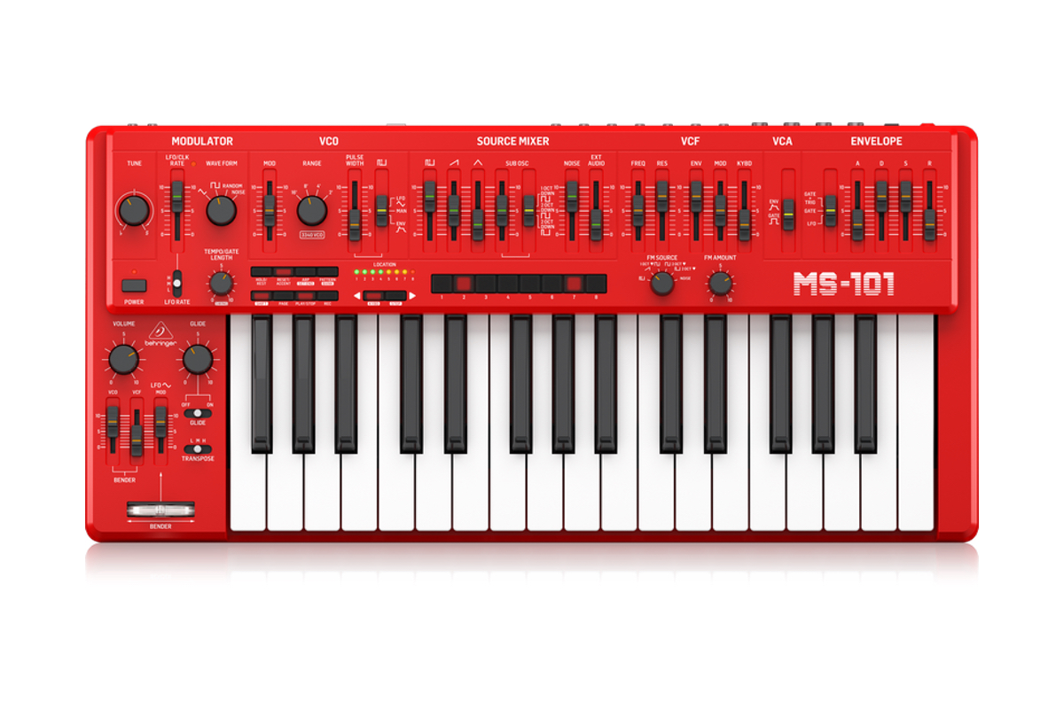 Synths, controllers and gear we'll be making music with in 2019