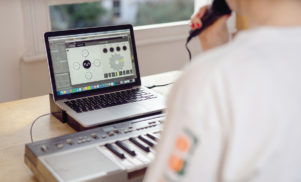 The Dubler Studio Kit is a real-time vocal recognition MIDI controller