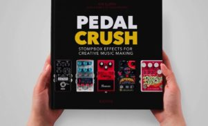 Stompbox book Pedal Crush launches on Kickstarter