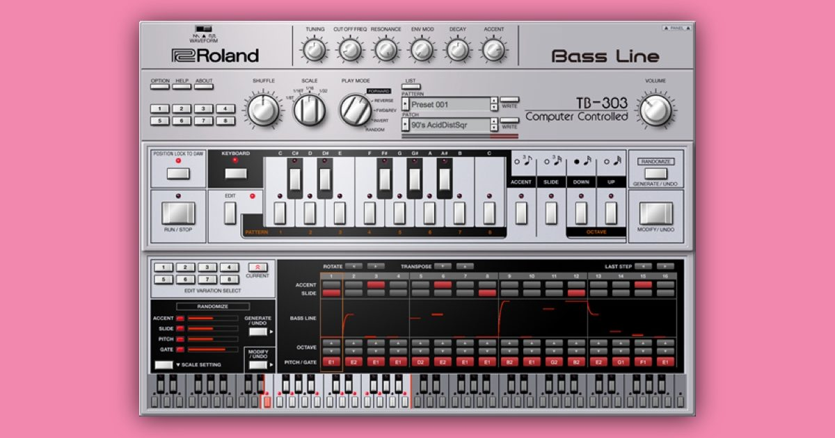 Roland releases official TB-303 VST for 303 Day