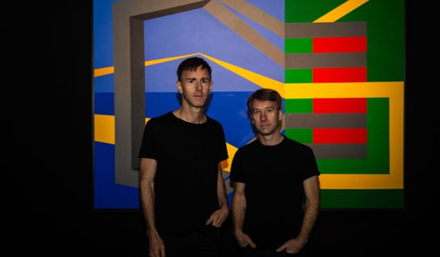 Richie and Matthew Hawtin on their F.U.S.E. Dimensions A/V show at The Store X, 180 The Strand