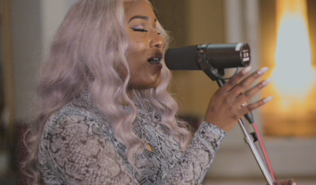 Watch Alicai Harley cover Sunshine Anderson's 'Heard It All Before'