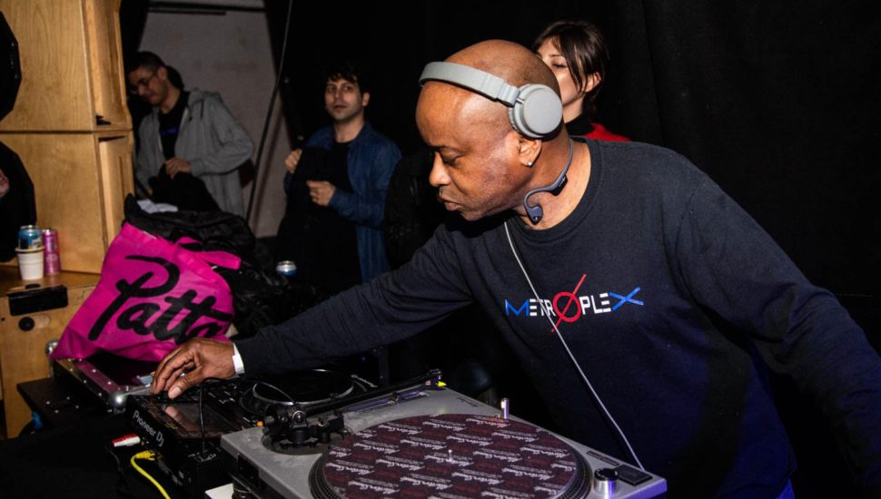 Juan Atkins at Phonica's Record Store Day 2019 party