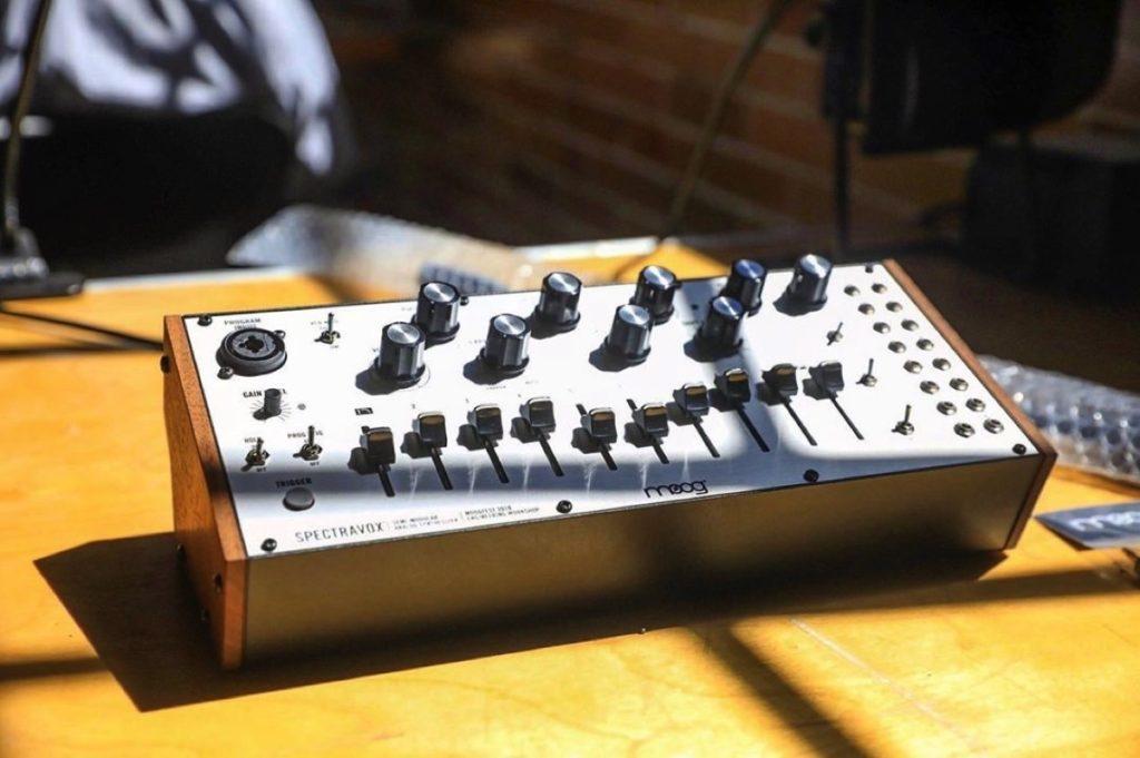 Moog designs ultra-limited Spectravox vocoder and modulator