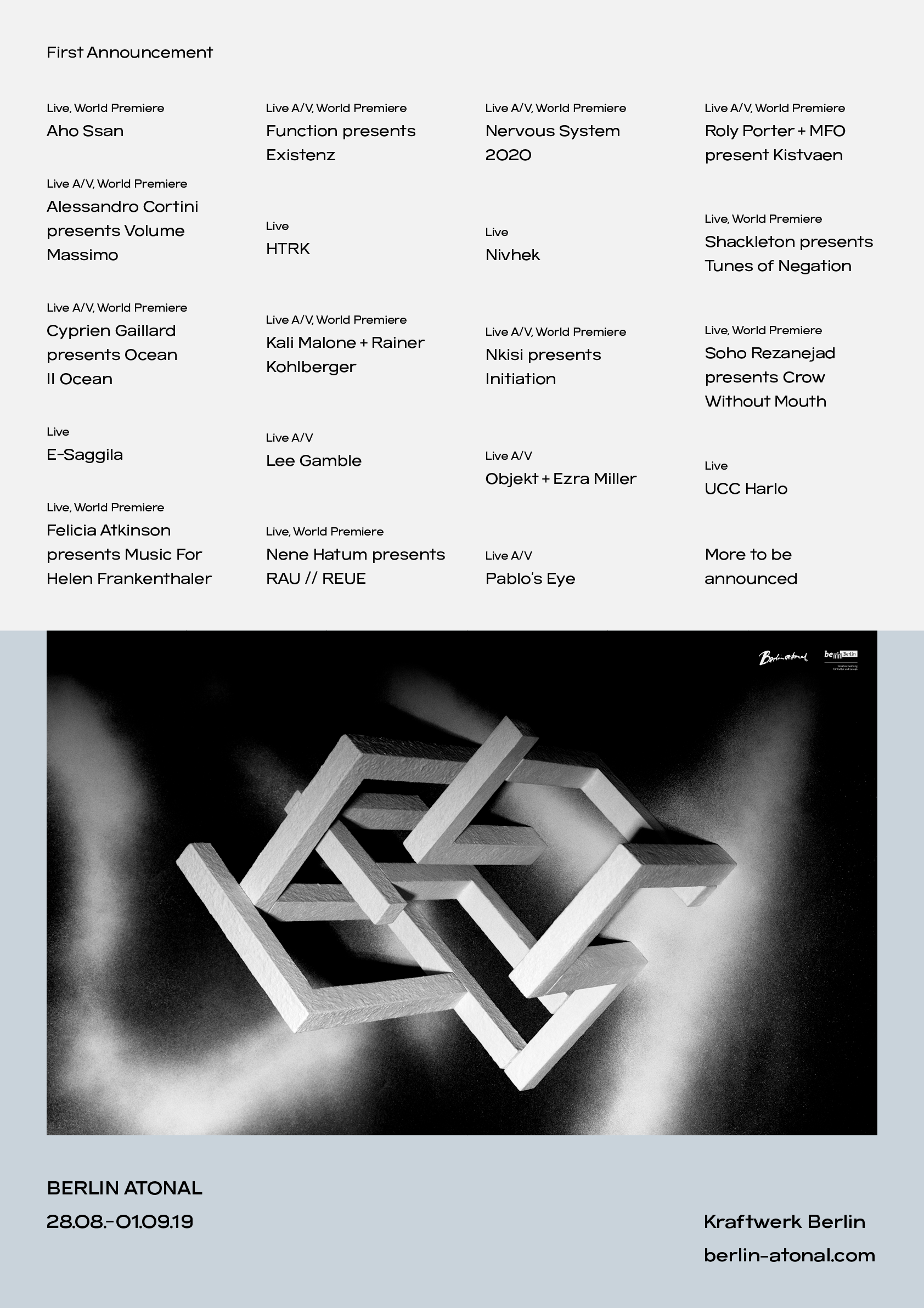 Berlin festival line up pdf to excel