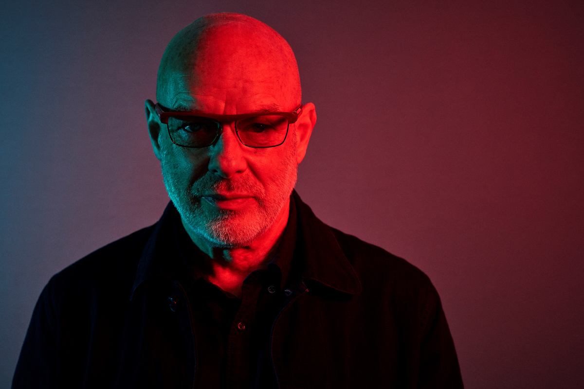 Brian Eno awarded the Stephen Hawking Medal at Starmus space festival