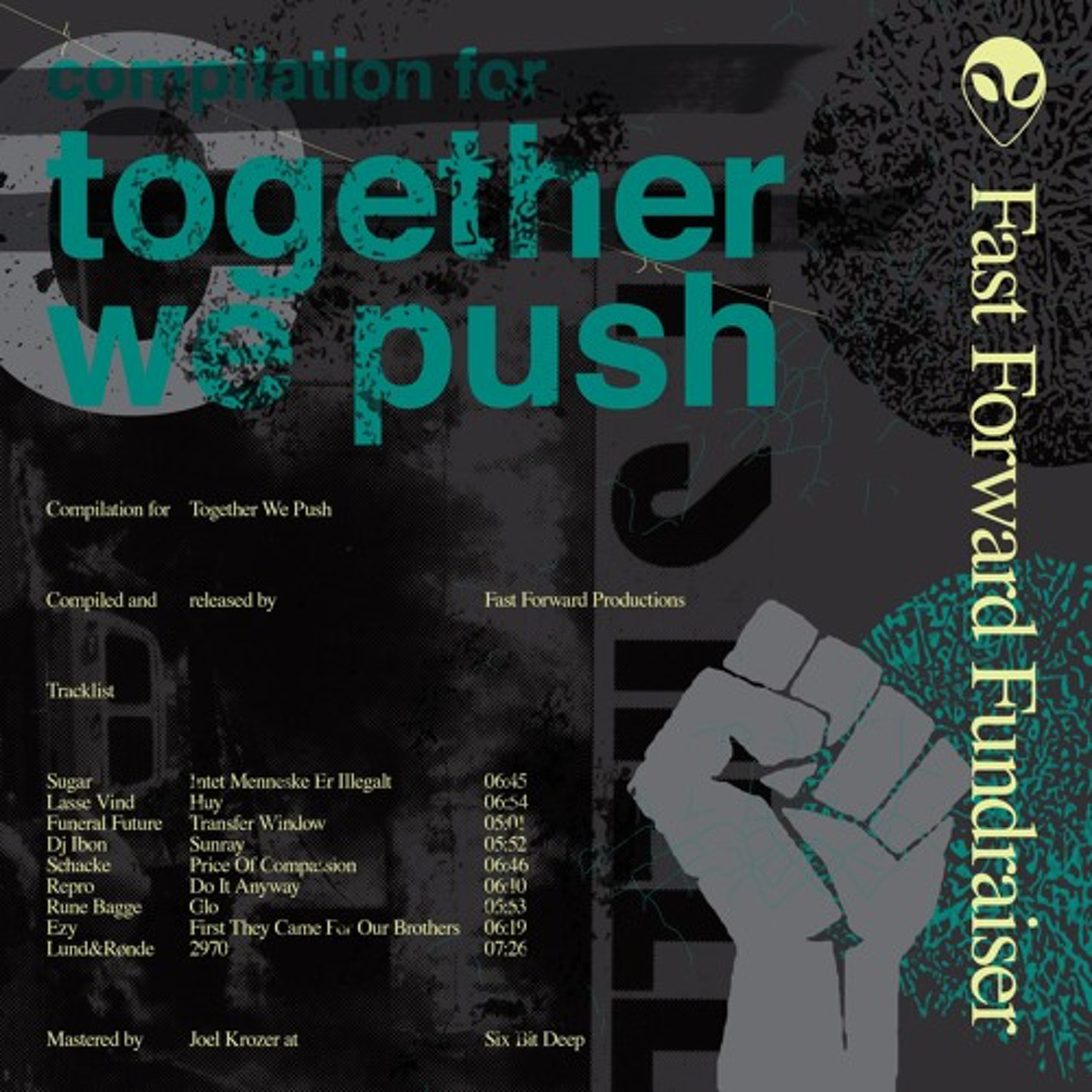 Funeral Future, Schacke, Ibon contribute to Together We Push compilation