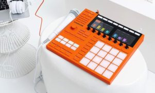 NI's limited edition flame orange Maschine is available next week