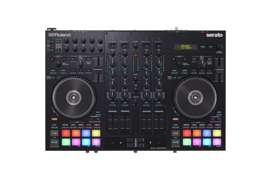 Roland and Serato team up on controller aimed at mobile DJs