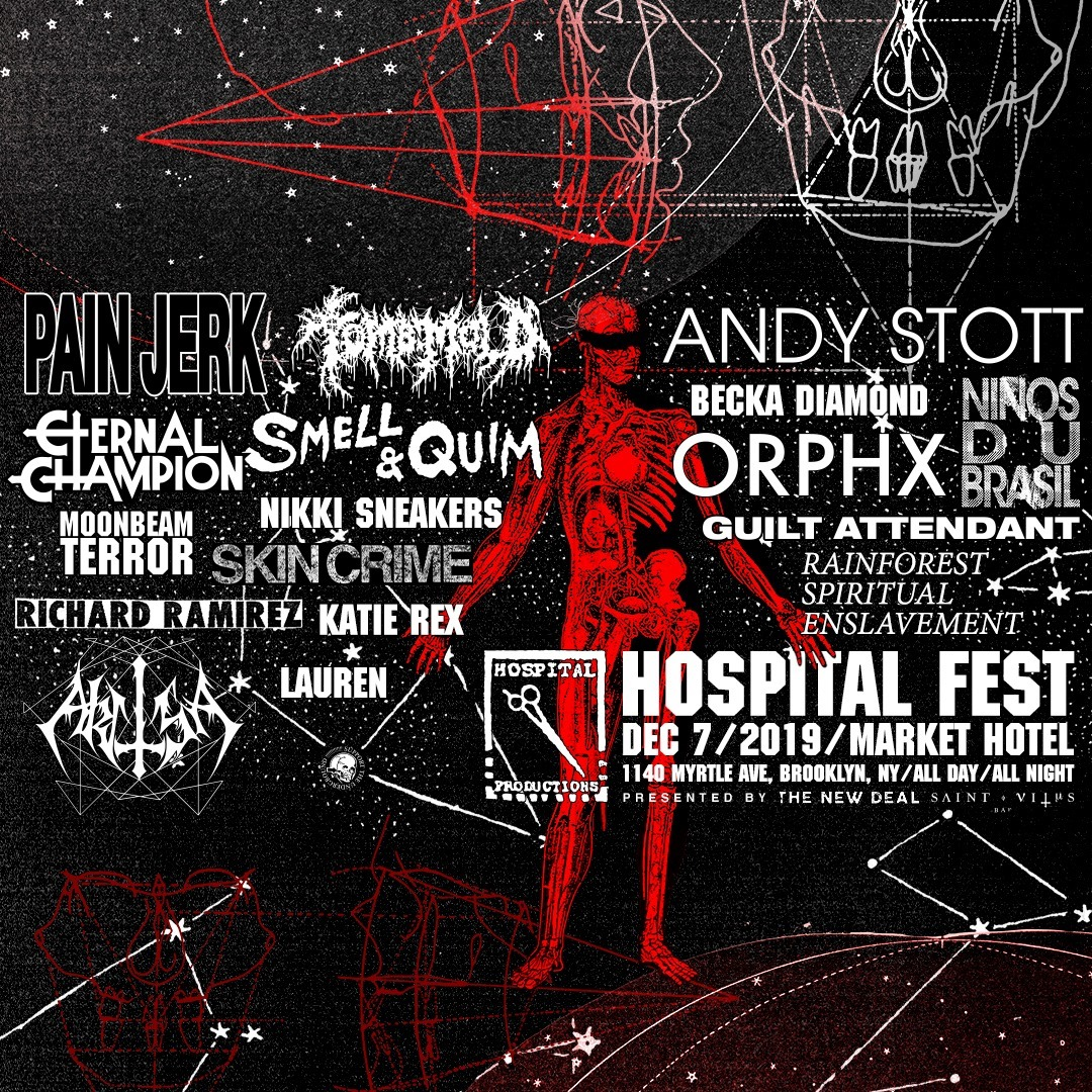 Andy Stott and Ninos du Brasil confirmed for Hospital Fest 2019