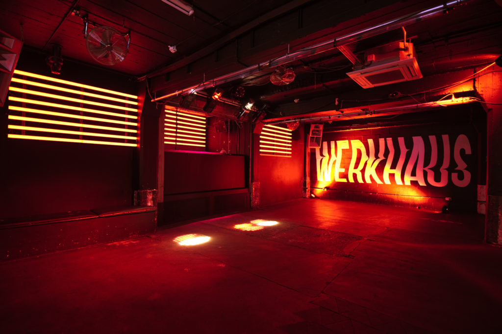 WERKHAUS is an intimate new venue for east London