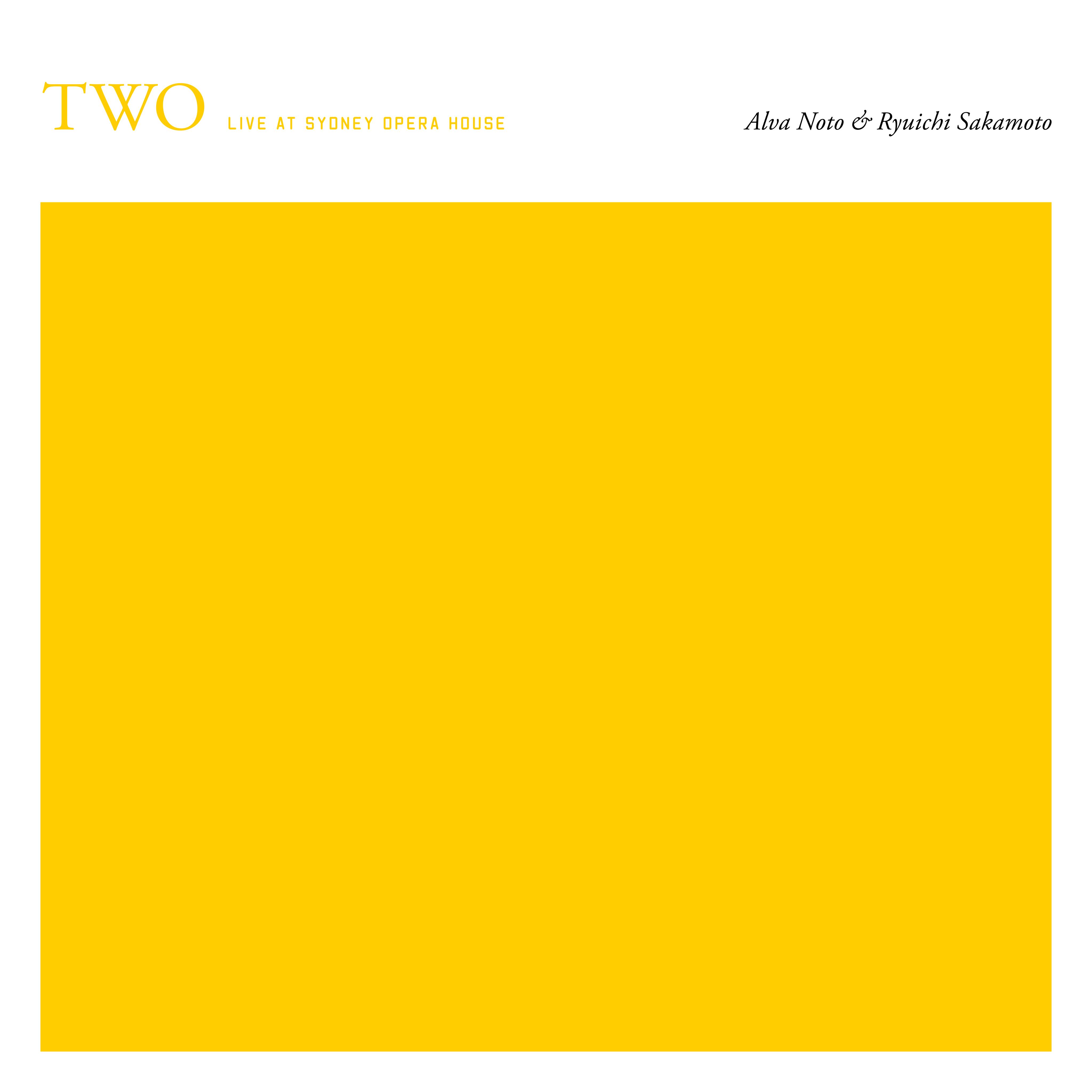 Ryuichi Sakamoto & Alva Noto to release live album TWO