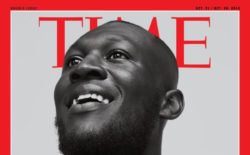 Stormzy featured on the cover of Time magazine