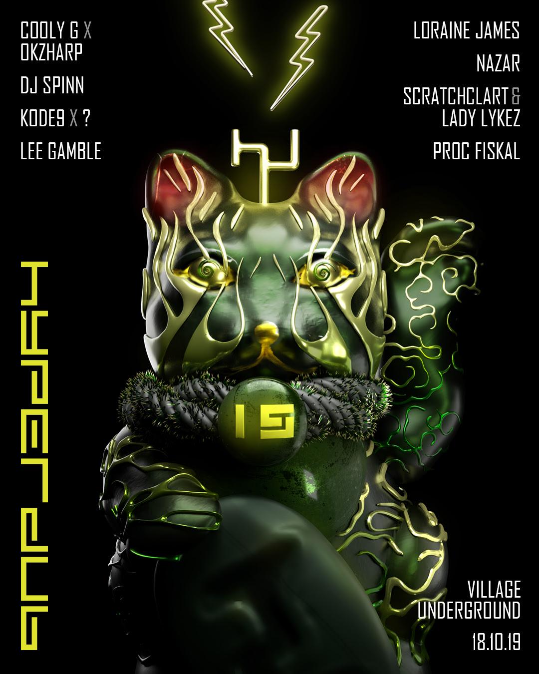 "Hyperdub announces 15th birthday rave with secret ""South London legend"""
