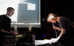 Steph Horak & Renick Bell examine live digital processes on Live at Pirate Studios, Bristol