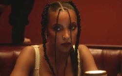 Screen grab from Tinashe video