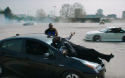Screengrab from Vossi Bop video
