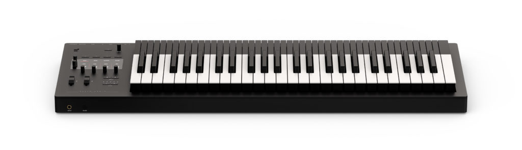 Osmose is an expressive keyboard synth that responds to physical gestures