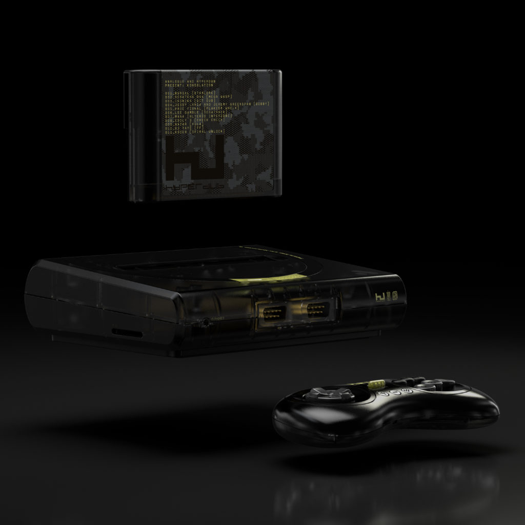 Burial featured on Sega Mega Drive music cartridge compilation