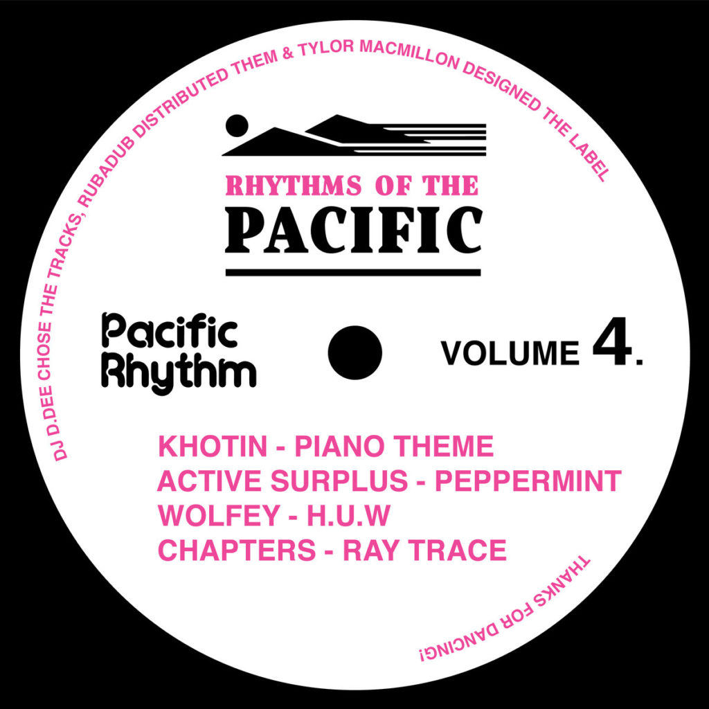 Pacific Rhythm announces new V/A release with Khotin, Wolfey and more