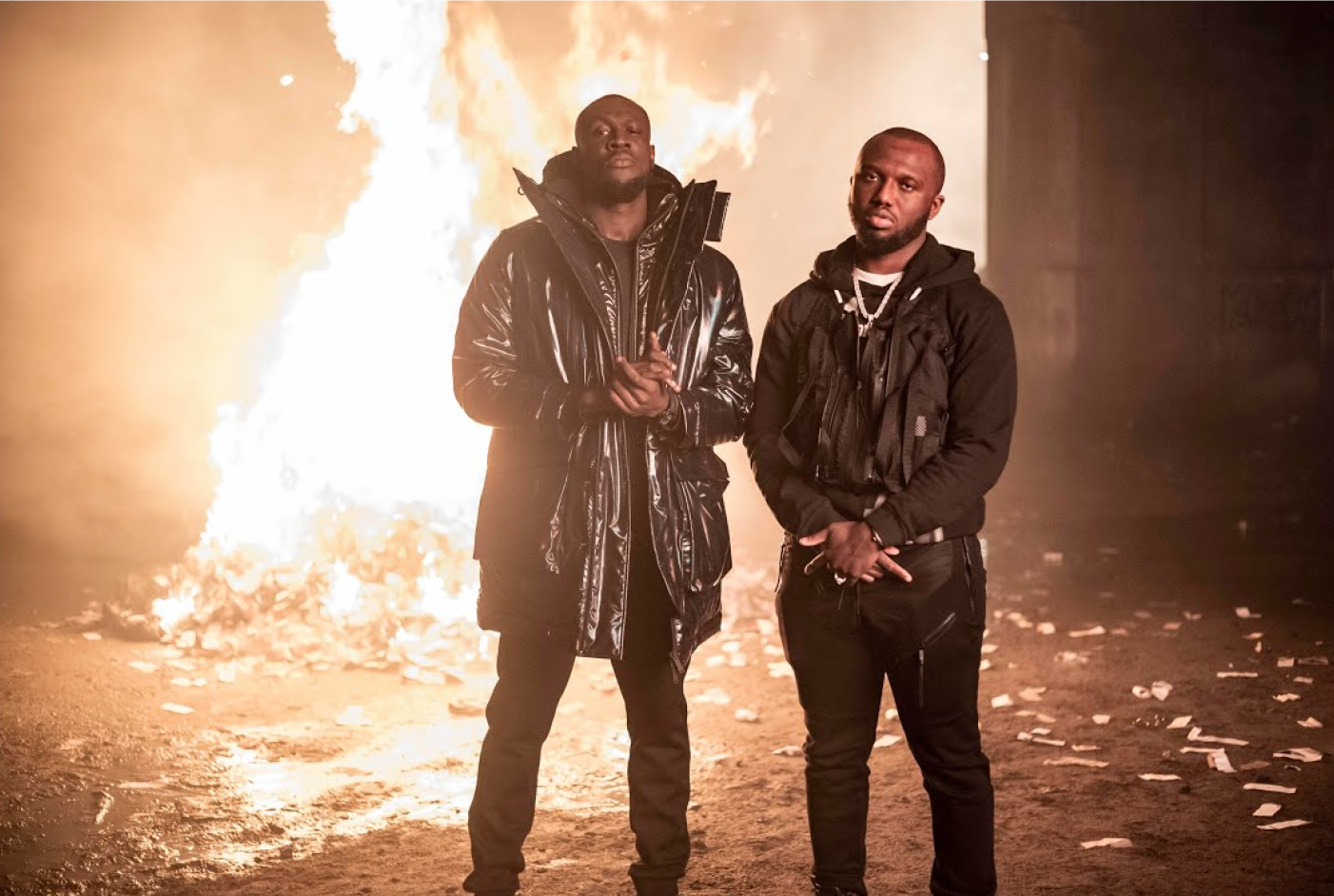 Stormzy shares fiery video for Headie One collaboration 'Audacity'