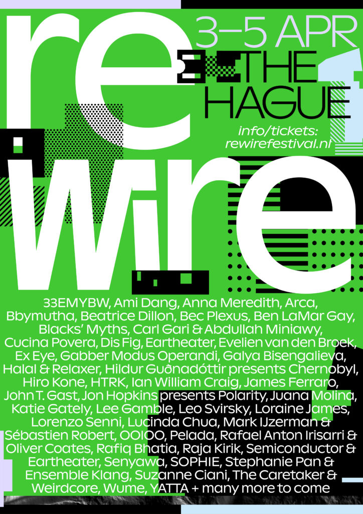 Arca, Eartheater and SOPHIE added to Rewire 2020