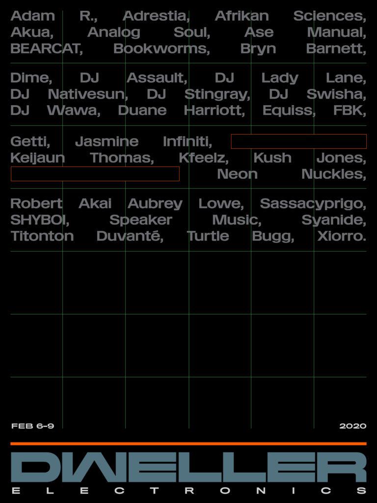 DJ Stingray, Turtle Bugg and Jasmine Infiniti to play Dweller Festival 2020