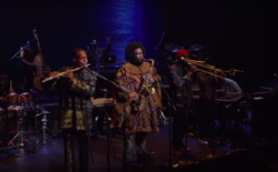 Still from Kamasi Washington Live at the Apollo