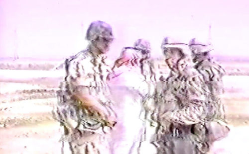 Vatican Shadow shares video for 'Predawn Coup D'etat (Schwarzkopf Duffle Bags Of Rials)'
