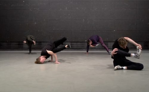 Taэт Vremya explore relationships between bodies, objects and actions with People Doing Moves