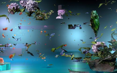 Sabrina Ratté simulates extinct ecosystems with her Floralia series