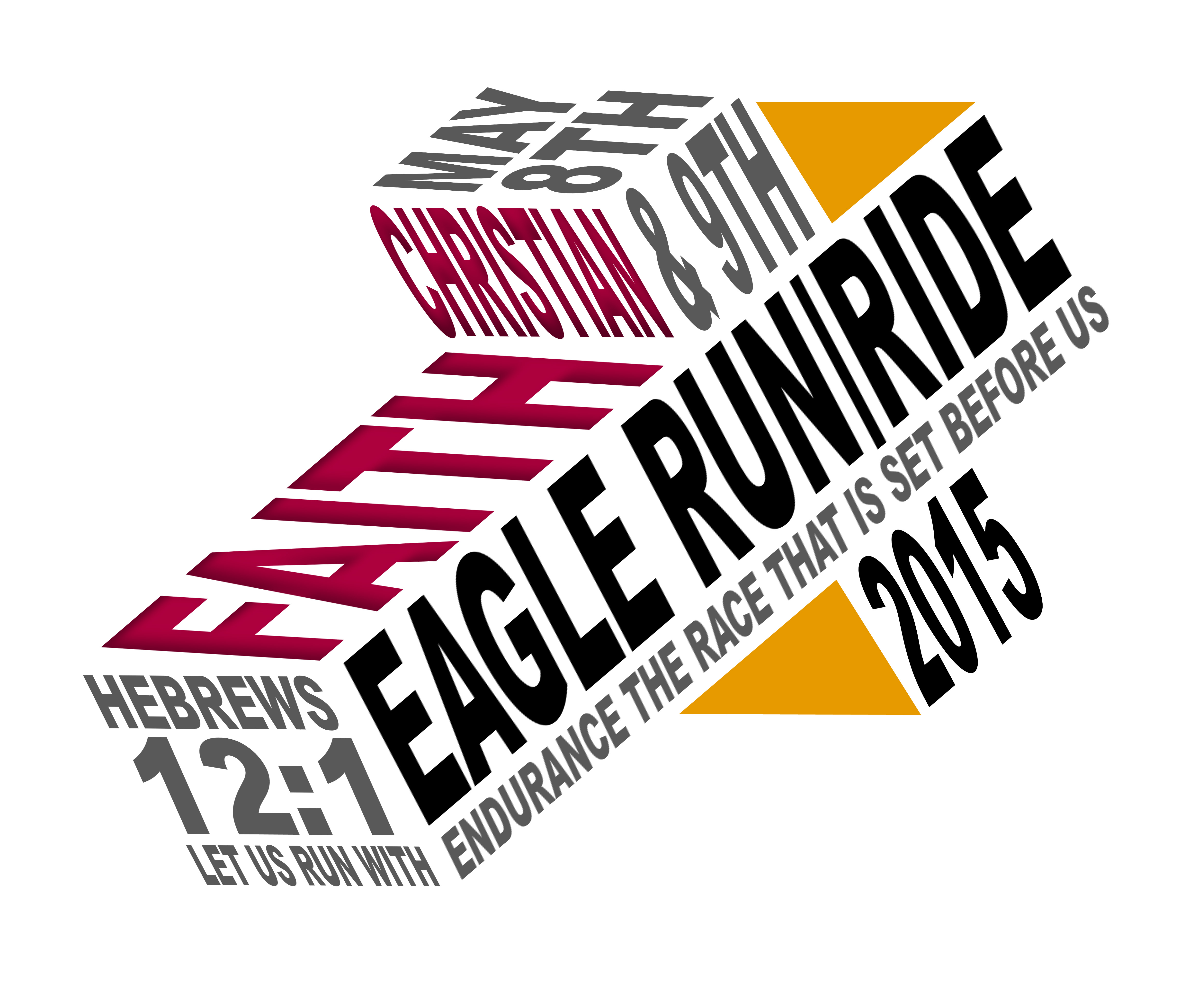 2015 Eagle Run-Ride logo