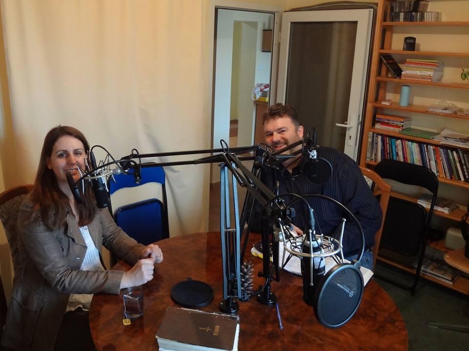Christina interviews Mark Shaw in Romania